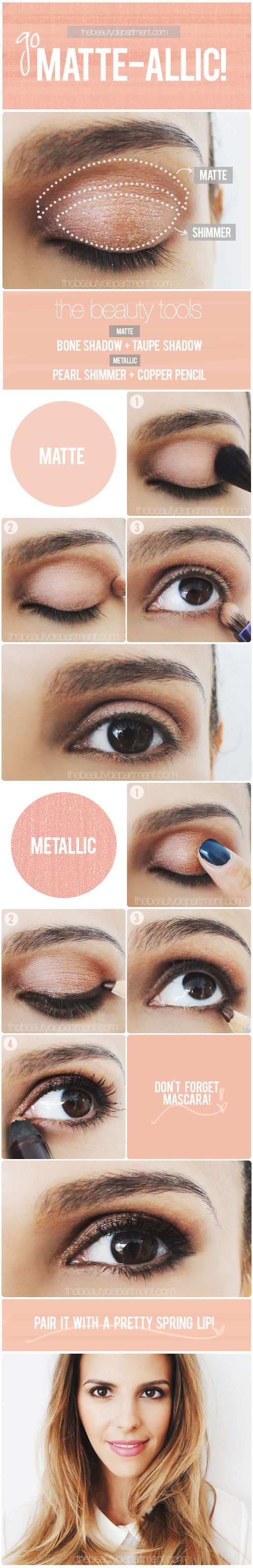 Great soft rosy smokey eyes! thebeautydepartment.com