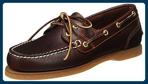 Timberland Classic Amherst 2-Eye, Damen Bootsportschuhe, Braun (Brown (Rootbeer Smooth)), 39 EU (6 Damen UK) - Bootsschuhe für frauen (*Partner-Link)