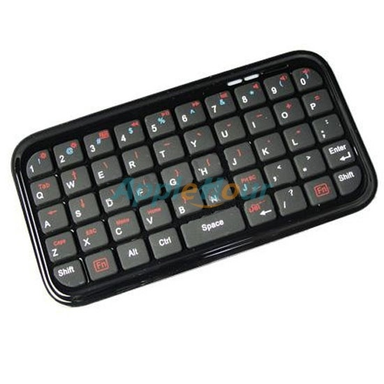 Mini Black 49 Keys Bluetooth Keyboard for iPad/iPhone 3G/3GS/4 and iPod Touch (EGS0958)  $19.74  www.mnrsoft.com