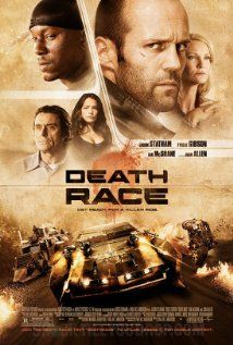 Death Race: Ex-con Jensen Ames is forced by the warden of a notorious prison to compete in our post-industrial world's most popular sport: a car race in which inmates must brutalize and kill one another on the road to victory.
