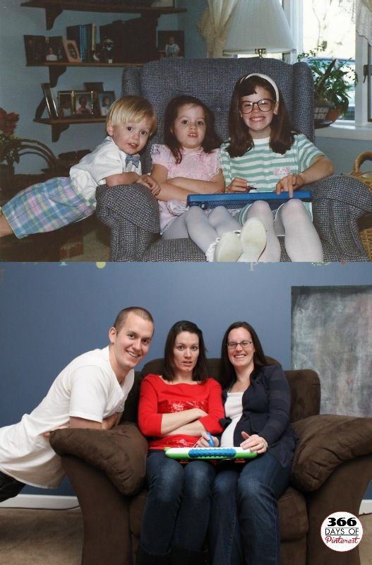 Recreating Family Photos, I have always wanted to do this!!!!