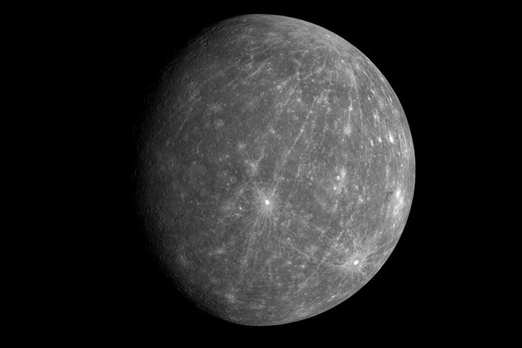 Here's why the surface of Mercury is so dark. For years, scientists have wondered why Mercury is so dark. It doesn't have as much iron and titanium as the Moon, so it should be brighter. A team at Johns Hopkins' Applied Physics Laboratory finally has the answer, though.