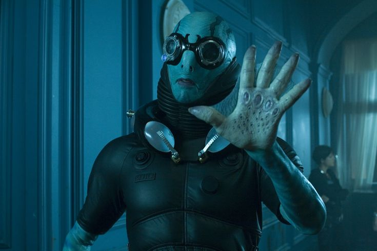 Abe Sapien from Hellboy.