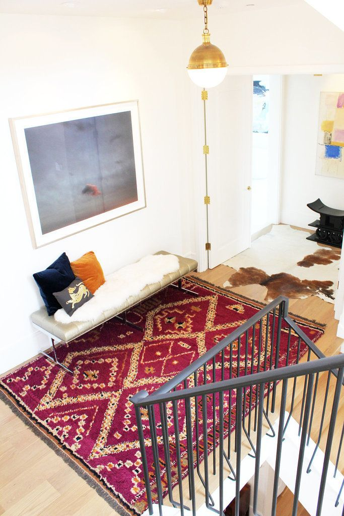 Dress Up the Floors With a Bright Rug
