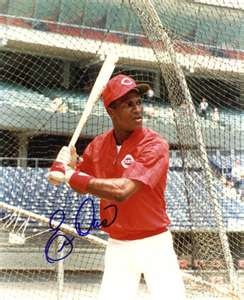 For some reason, I ended up really like Eric Davis, when I was young