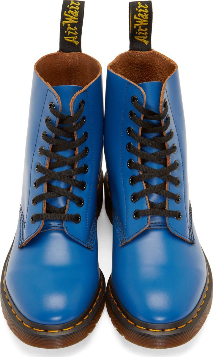 Dr. Martens Blue 8-Eye Pascal Boots. SchuheDoc ...