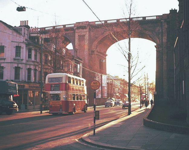 Preston Road in 1961. | 14 Charming Old Photos Of Brighton