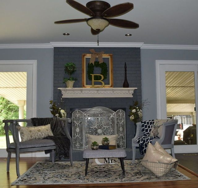 424 Best Images About Paint Colors On Pinterest: 17 Best Ideas About Painting Fireplace On Pinterest