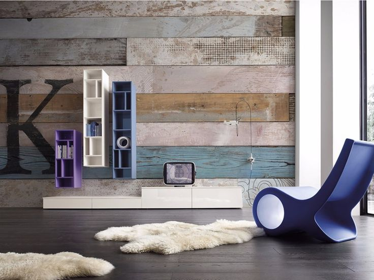Carta da parati effetto legno panoramica KEI Collezione Giocoadue by Inkiostro Bianco design Giocoadue