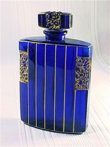 Vintage Delettrez Perfume Bottle French ART Deco Glass Commercial CA 1930 Rare | eBay