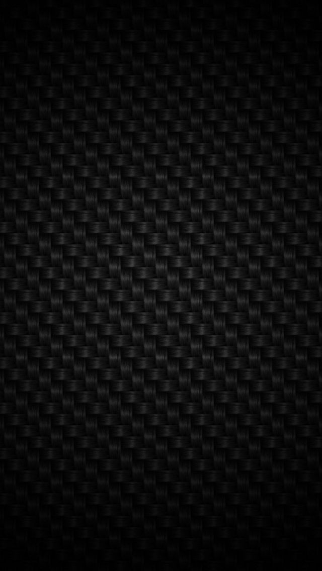 Black Weave pattern background - iPhone Material / Texture wallpapers @mobile9