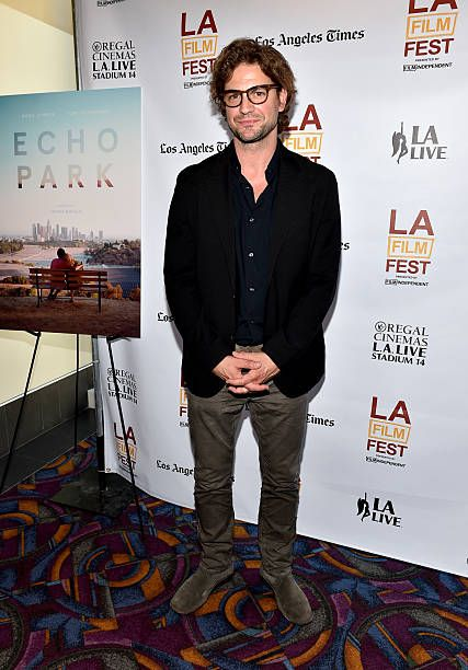 Actor Gale Harold attends the premiere of 'Echo Park' during the 2014 Los Angeles Film Festival at Regal Cinemas LA Live on June 14 2014 in Los...