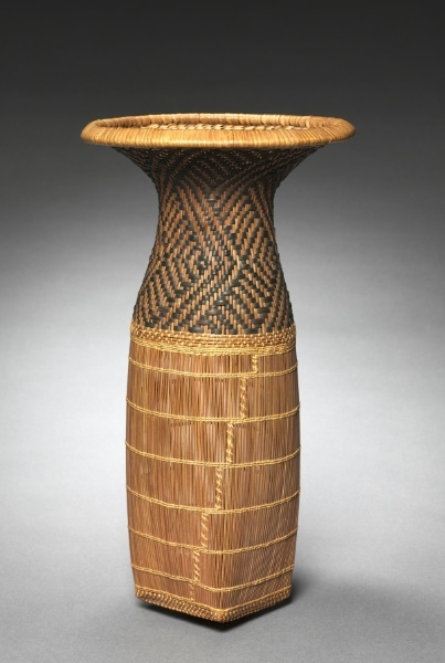 Africa | Sifting Basket from the Chokwe peoples, Angola or DR Congo | ca. Before 1915 | Fiber