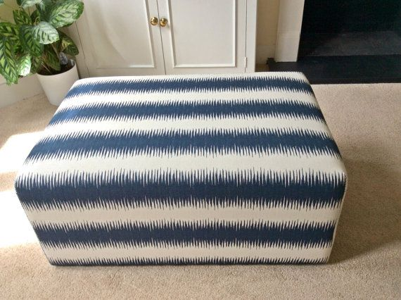 upholstered ottoman coffee table bespoke by - Upholstered Ottoman