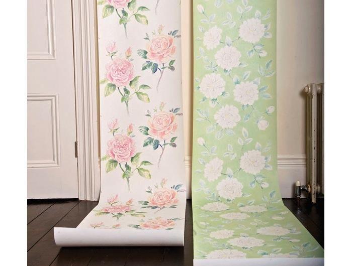 kevin dean floral rose wallpaper