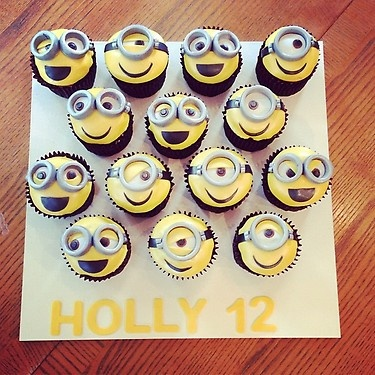 had favorite bakery make these for Hollz's 12th yesterday. thank you pinterest for the idea!