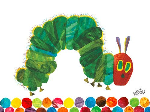 the very hungry caterpillar :)
