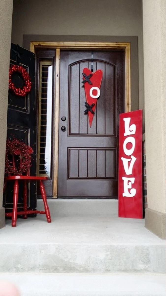 Unique outdoor valentine decor ideas real house design Valentine stage decorations
