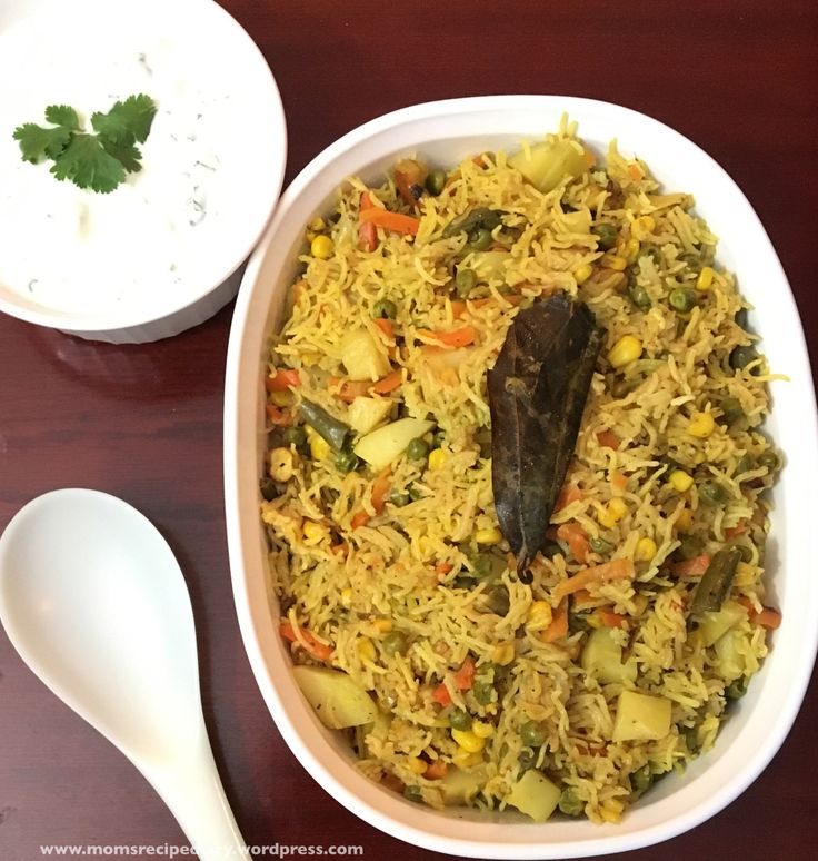 Vegetable Pulao is an easy one pot comfortmeal made with rice(Basmati Rice), vegetables and Indian spices. I usually prepare it onweekdays andpack this rice for my kids' school lunch box a…