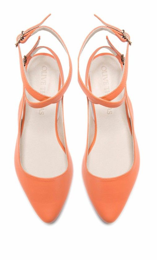 〉〉Coral Ballet Flats | http://uncovet.com/the-annie-flat?m=HardPin=type56