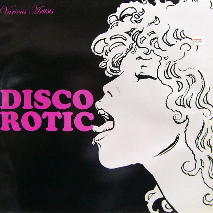 "Milo Manara 2004 Various Artists - Disco Rotic (12"") [Disco Rotic EDLP01] #albumcover #comics"