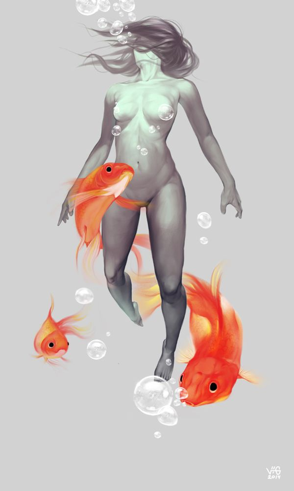 Goldfish on Behance