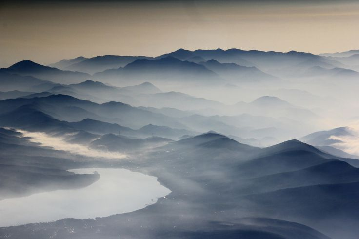 view from Mt Fuji