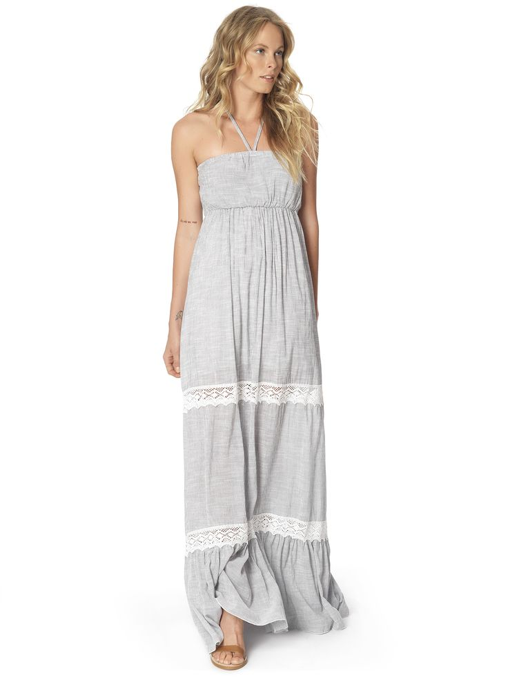 Regalinas halterneck maxi dress #ss15
