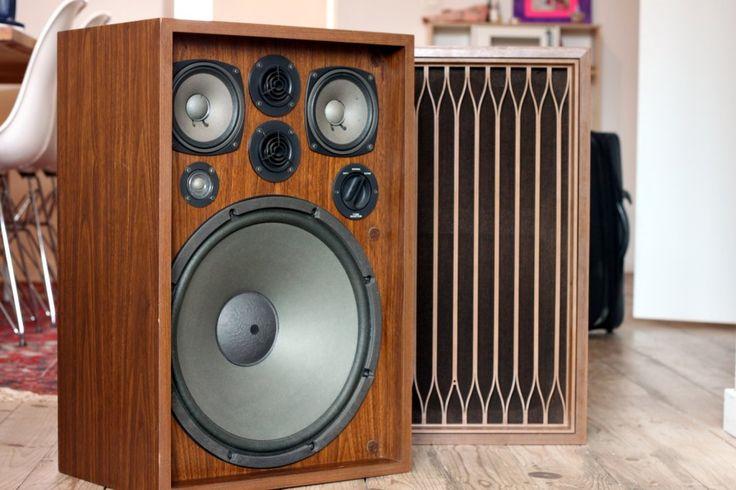 Kenwood KL-777A Vintage hi fi stereo equipment speakers