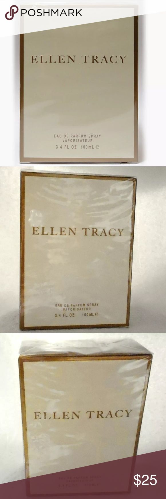 Ellen Tracy by Ellen Tracy Eau De Parfum Spray 3.4 Ellen Tracy By Ellen Tracy For Women Eau De Parfum Spray 3.4 OZ - NIB Sealed  NEW Sealed Pack EAU DE PARFUM SPRAY 3.4 OZ with fragrance notes of oriental flowers and spices with lower woodsy notes. Ellen Tracy Other
