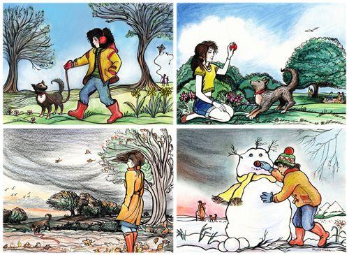 Seasons brief: Phyllis Mahon: Colour