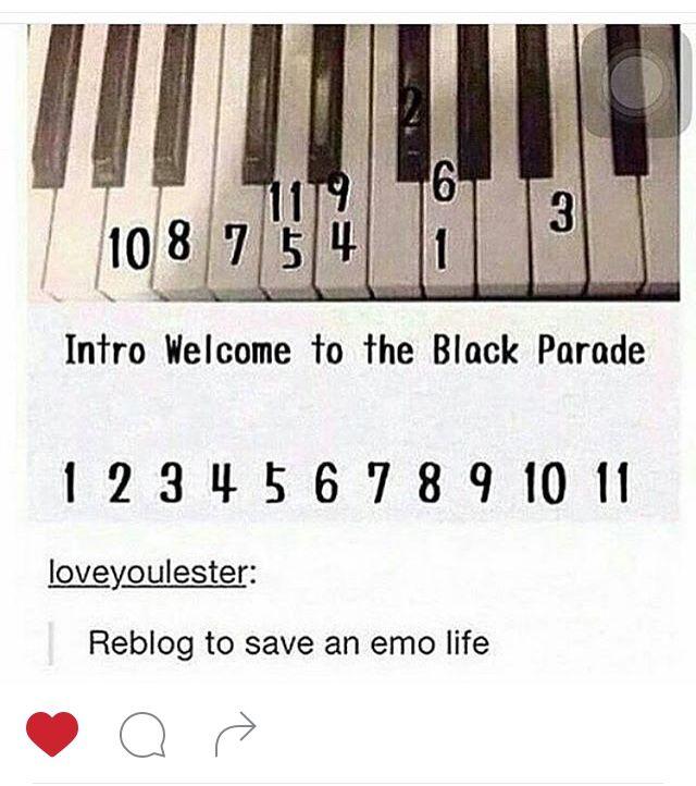 Pin By Rafahh 2 On Life Hacks Emo Music Piano Music Mcr