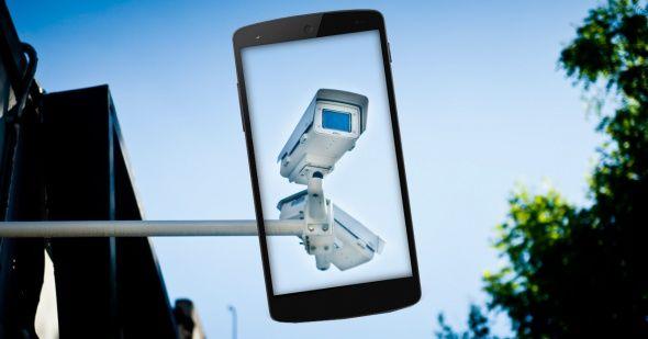 Móviles Android como cámaras de vigilancia.