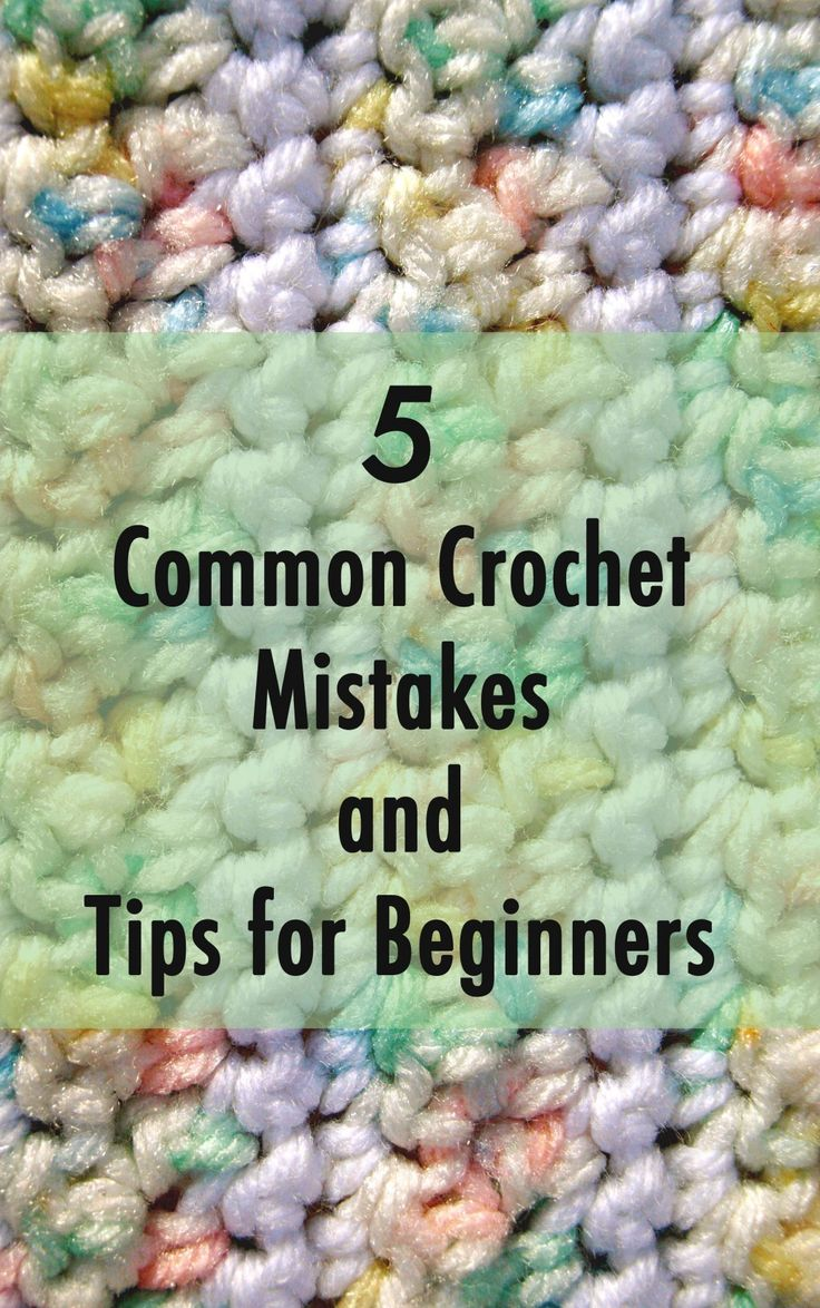 This article will go over the most common crochet mistakes made by beginners. #crochet: