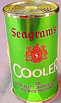 Seagrams Wine Cooler Can Novelty Radio