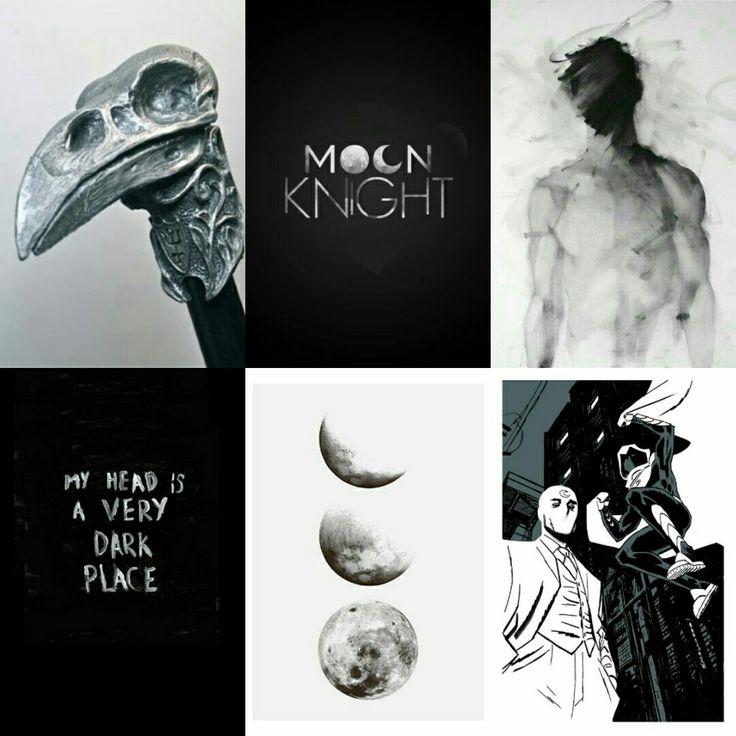 Moon Knight aesthetic.
