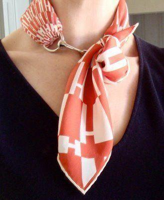 Learn How To Wear Hermes Scarf – Look Like A Diva – Kaori Naka