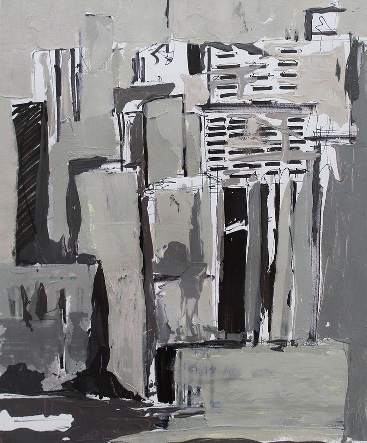 Destek, 2015, Canson kağıdı üzerine akrilik, 35x29cm