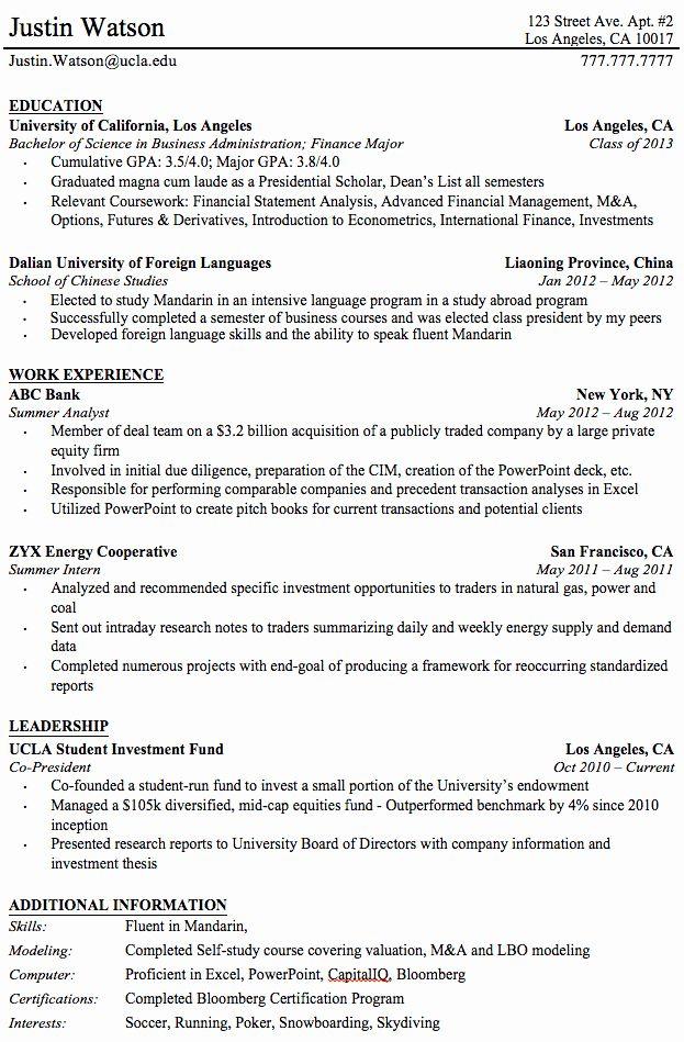 college graduate resume template beautiful professional