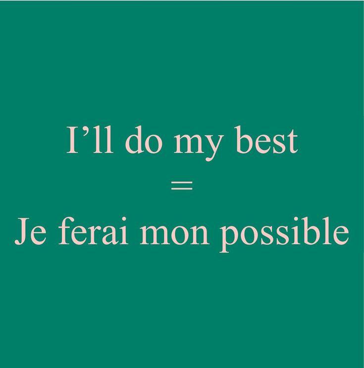 Pronunciation: http://soundcloud.com/edi/ill-do-my-best-je-ferai-mon #frenchlanguage #learnfrench