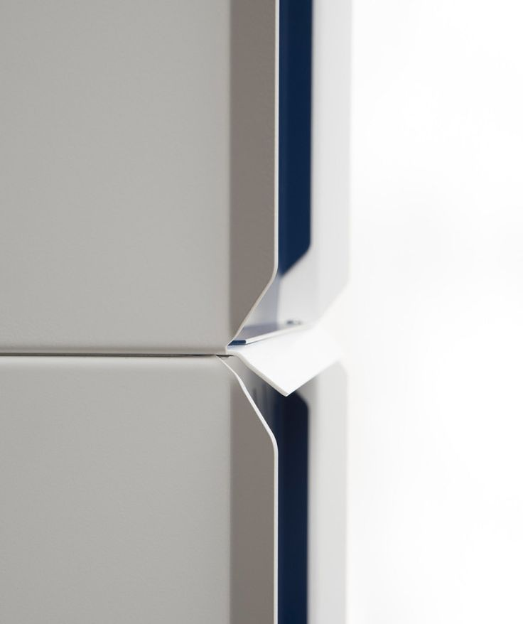 Detail of Plane shelving by Sebastian Bergne, produced by Teebooks…