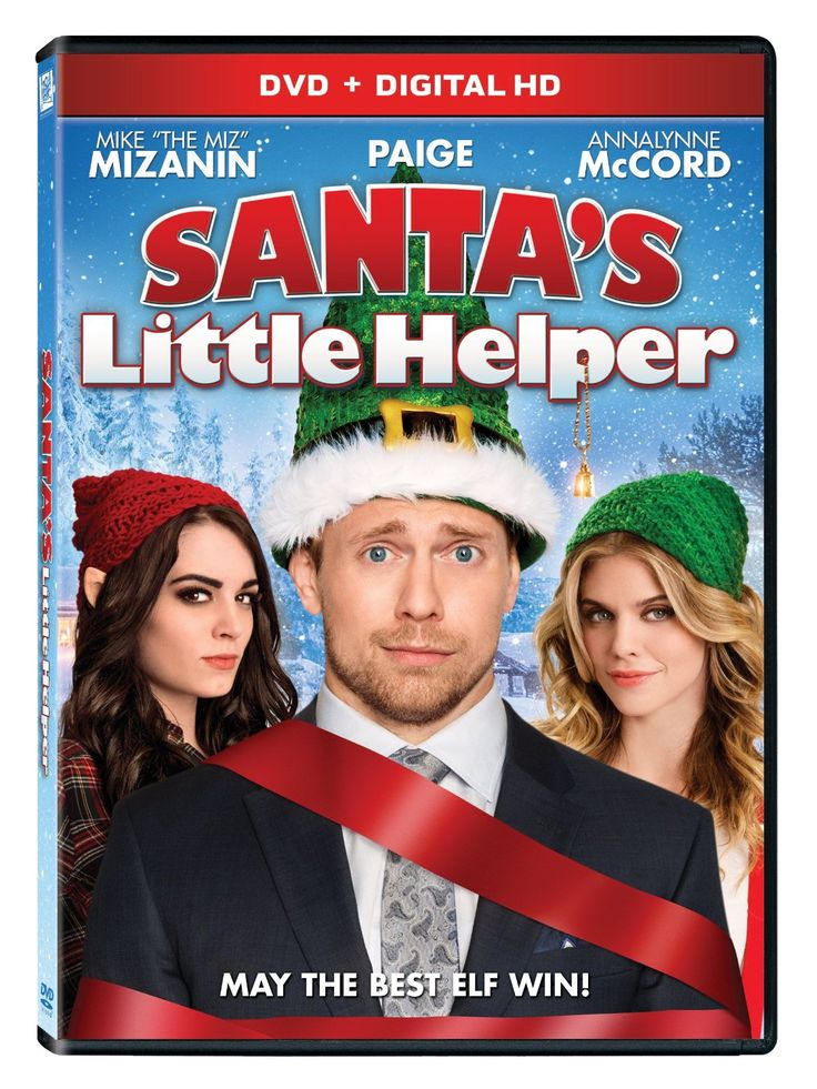 WWE Santa's Little Helper DVD