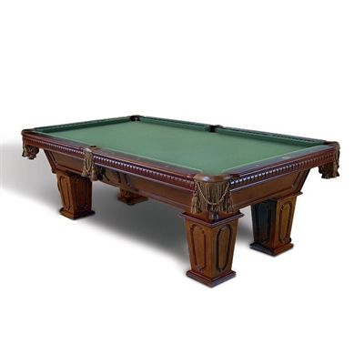 Beringer Billiards 0101-1035 Sierra Bold 8-ft Billiard Table