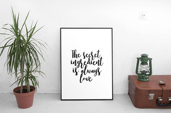 Hey, I found this really awesome Etsy listing at https://www.etsy.com/listing/569589401/printable-the-secret-ingredient-is