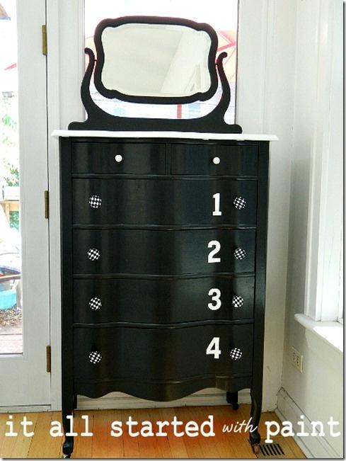 My Four Season Dresser Dresser White Painted Dressers