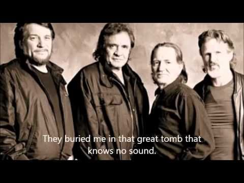 """Highwayman"" by The Highwaymen (Willie Nelson, Kris Kristofferson, Waylon Jennings, and Johnny Cash)"