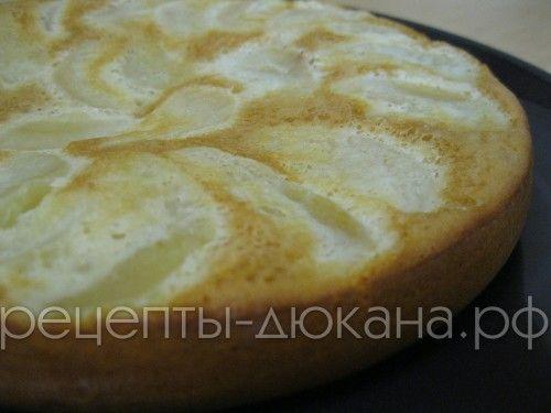 Шарлотка с яблоками по Дюкану | Рецепты диеты Дюкан