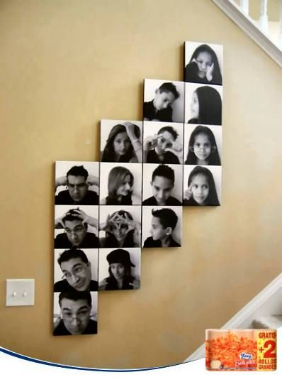 31 best images about fotos on pinterest creative photo - Collage de fotos para pared ...