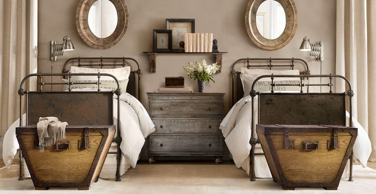 Inspiring Interiors ~ rustic bedroom