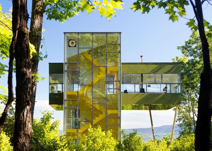GLUCK s tower house designed like an observatory